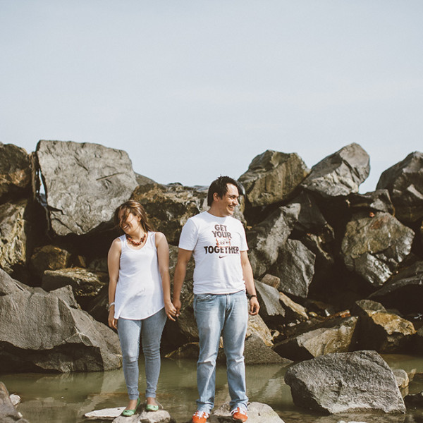 Engagement session in Lima: Romy & Jefferson