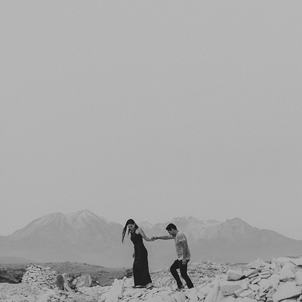 Engagement session Canteras de Añashuayco - Arequipa