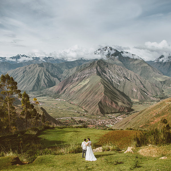 Elopement in Sacred Valley - Cusco Jennifer & Gjay
