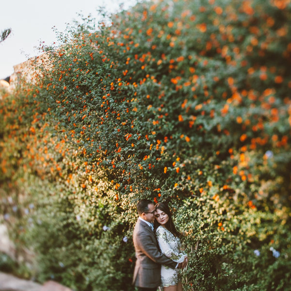 Engagement session in Santa Catalina Monastery Yadyra & Eric