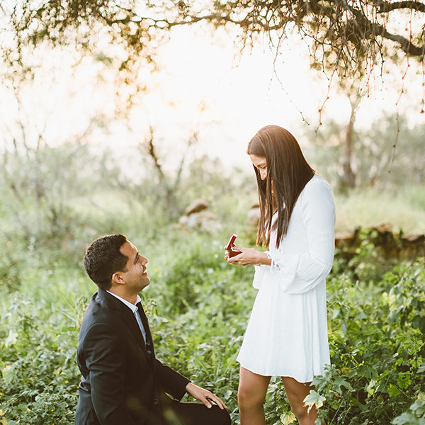 Surprise proposal in the countryside of Arequipa Sarita & Jesus